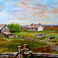 Eastern Townships Quebec Country Scene by Carole Spandau