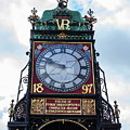 Eastgate Clock In Chester by Jeff Townsend