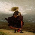 Eastman Johnson - The Girl I Left Behind Me by Eastman Johnson