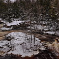 Eau Claire Dells Snow Covered Island by Dale Kauzlaric