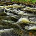 Eau Claire River Laminar Flow by Dale Kauzlaric
