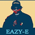 Eazy E Poster by Dan Sproul