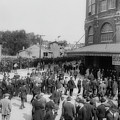 Ebbets Field Crowd 1920 by Library Of Congress