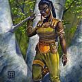 Ebony Elf by Melissa A Benson