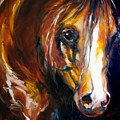 Ebony Night Equine by Marcia Baldwin