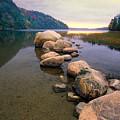 Echo Lake Sunset by George Oze