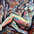 Echo Of A Nude Gesture II by Darwin Leon