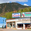 Eclectic Victorian Architecture In Manitou Springs Colorado by Steve Krull