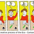 Eco Cartoonist by Grant Wilson