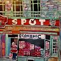 Economic On Laurier by Michael Litvack