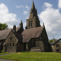Edale Village Church by Kevin Round