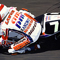 Eddie Lawson - Suzuka 8 Hours by Jeff Taylor