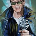 Eddie Van Halen by Melanie D