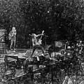 Eddie Vedder Rock God Pose Pearl Jam by Toby McGuire