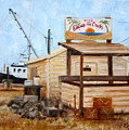 Eddies On The Creek Belford Nj by Leonardo Ruggieri