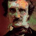 Edgar Allan Poe Artsy 2 by Joy McKenzie