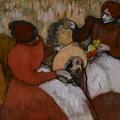 Edgar Degas - The Milliners - 1898 by Edgar Degas