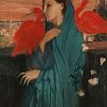 Edgar Degas - Young Woman With Ibis - 1860-1862 by Edgar Degas