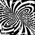 Edge Of A Mobius Strip Maze by Yonatan Frimer Maze Artist