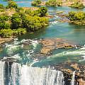 Edge Of The Falls by Brandon Falls