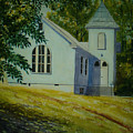 Edgemont Baptist Church by Shirley Braithwaite Hunt