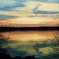 Edinboro Lake Nocturne No.3 by Sara Adams