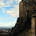 Edinburgh Castle by Amanda Barcon