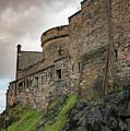 Edinburgh Castle Closeup by Jean Noren