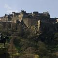 Edinburgh Castle by Mike Lester