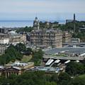 Edinburgh Castle View #3 by Lisa Collinsworth