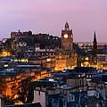 Edinburgh Night by Songquan Deng