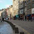 Edinburgh Royal Mile Street by Munir Alawi