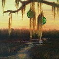 Edisto Island Glass Floats by Rosie Phillips