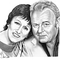 Edith And Archie Bunker by Murphy Elliott