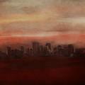 Edmonton At Sunset by Eduardo Tavares