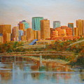Edmonton Reflections by Mohamed Hirji