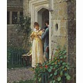 Edmund Blair Leighton 1852-1922 The Request by Edmund Blair Leighton