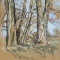 Edouard Vuillard Cuiseaux 1868-1940 La Baule The Park In Clayes. 1932-1938. by Edouard Vuillard