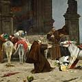 Eduardo Zamacois Y Zabala , Returning To The Monastery 1868 by Eduardo Zamacois y Zabala