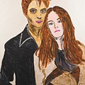 Edward And Bella by Valerie Ornstein