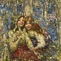 Edward Atkinson Hornel 1864-1933 The Bluebell Wood by Edward Atkinson Hornel