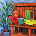 Edwards Nursery Potting Bench by Kevin Hughes
