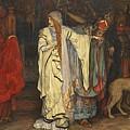 Edwin Austin Abbey 1852-1911 King Lear, Cordelias Farewell by Edwin Austin Abbey