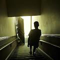 Eerie Stairwell by Scott Hovind