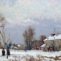 Effects Of Snow by Camille Pissarro
