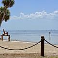 E G Simmons Park Beach by Carol  Bradley