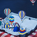 Egg Balloons by Lisa Gabrius