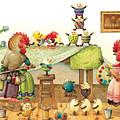 Eggs Dyeing by Kestutis Kasparavicius