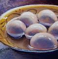 Eggs In Window Light by Susan Jenkins