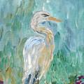Egret by Bev Veals
